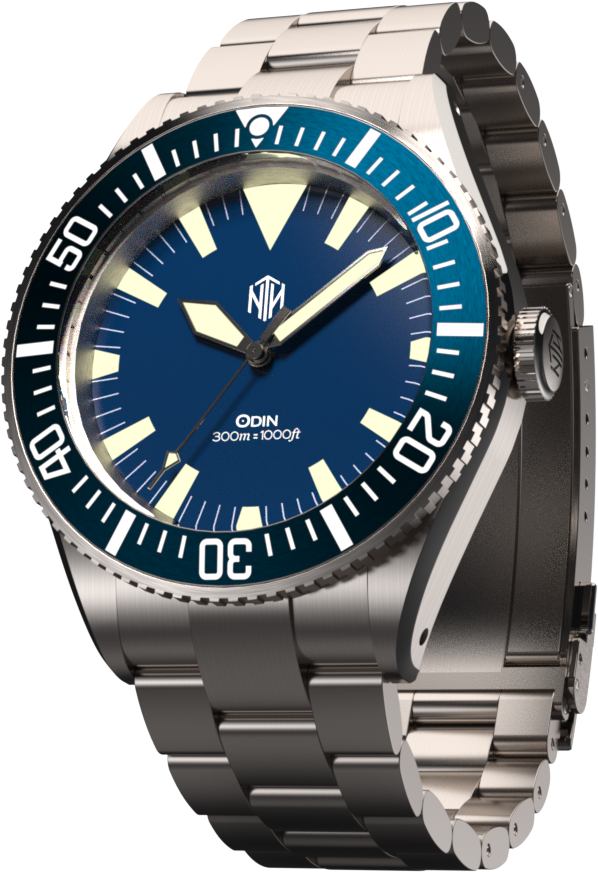 Odin - Blue - Nearly New - NTH Watches