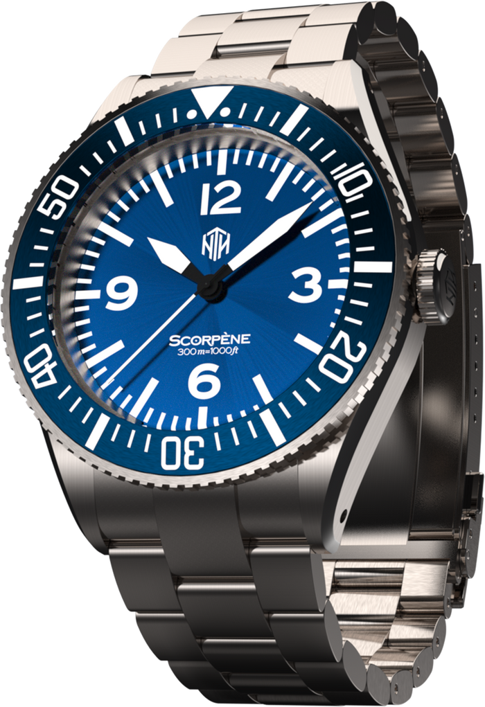 Scorpène - Blue - NTH Watches