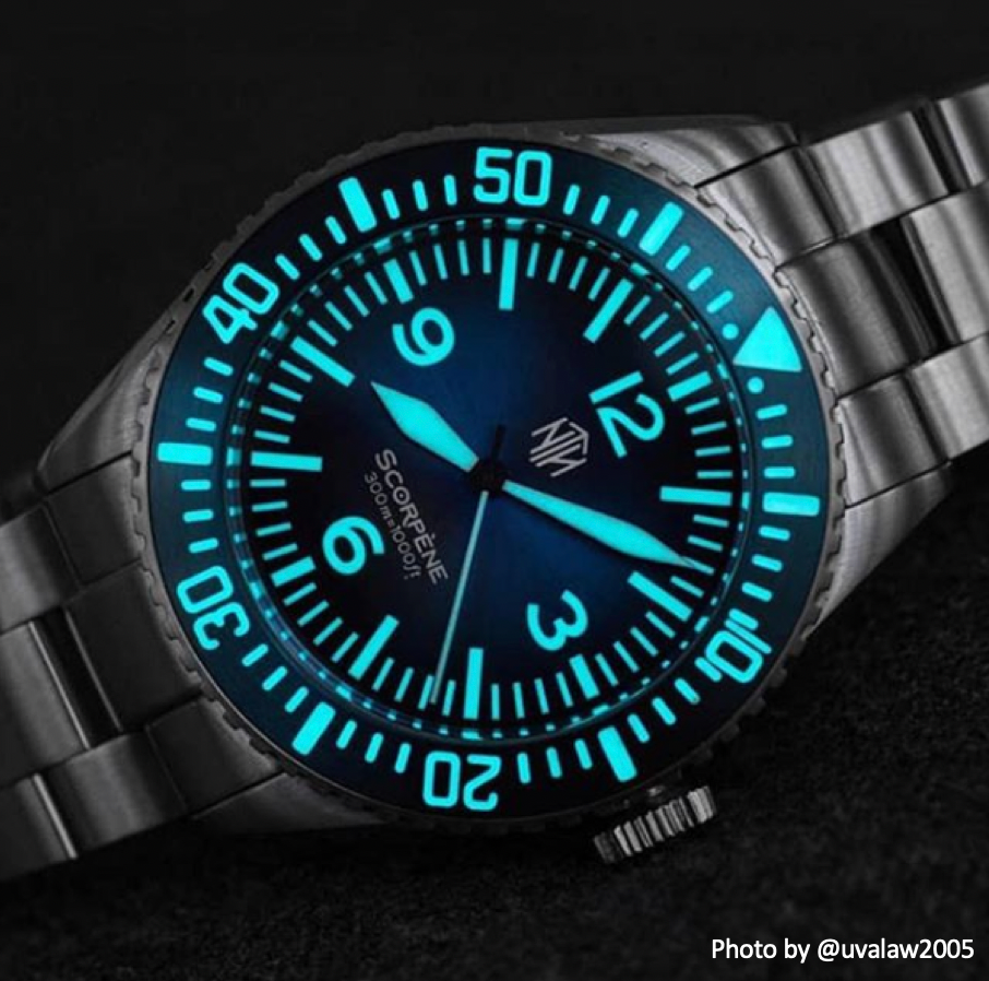 Scorpène - Blue - Nearly New - NTH Watches