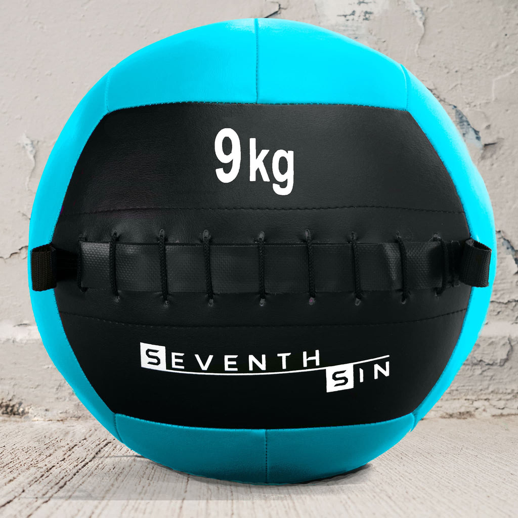 9kg - Seventh Sin Wall Ball - Seventh Sin Fitness