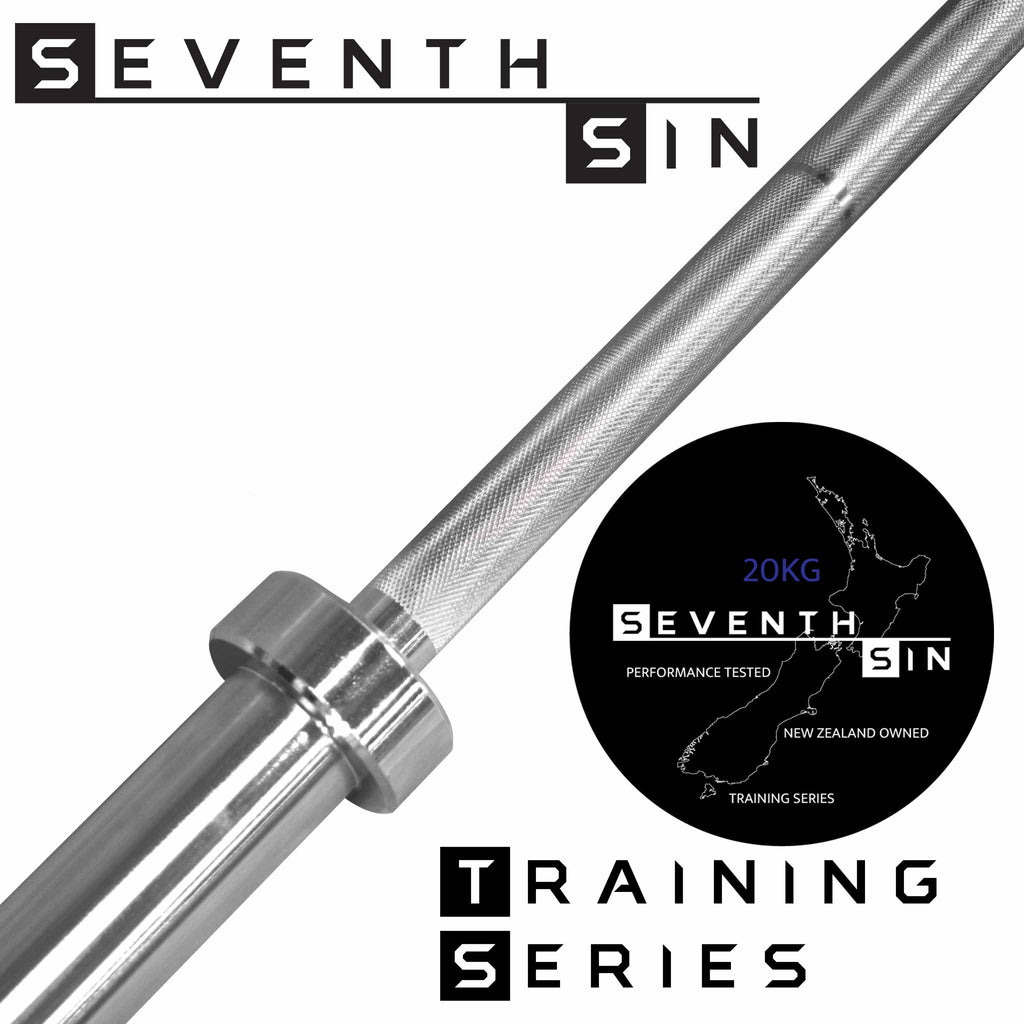 Training Series Barbell - 20kg - Seventh Sin Fitness