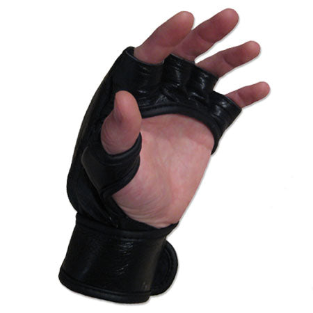 Meister Pro 7 Ounce MMA Gloves - Black - Seventh Sin Fitness