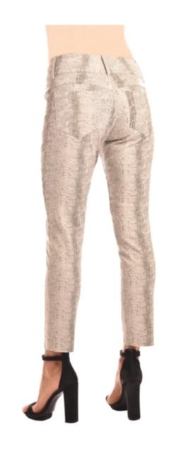 Reptile Cropped Skinny Pants