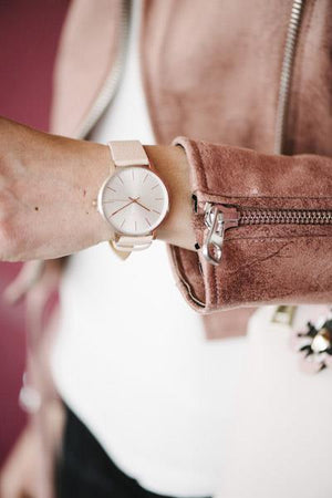 Pilgrim Brisa Leather Strap Watch