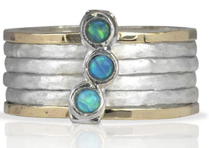 Meditationrings Azure