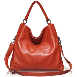 Genuine Leather Shoulder Bag Tote Leisure