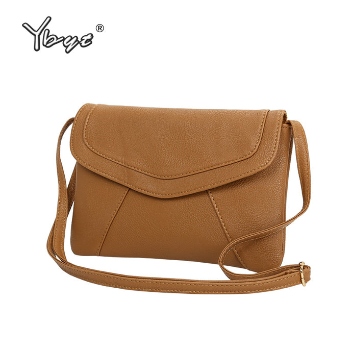 Vintage PU Leather Handbags Crossbody