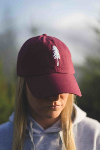 Tree Logo Embroidered Dad Hat