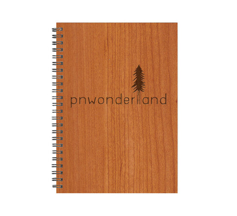 Real Wood Notebook (Lined or Blank)