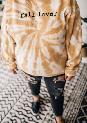 Fall Lover Tie Dye Graphic Sweatshirt