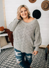 Bailey - Grey Dolman Sweater