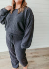 Maggie - Supersoft Lounge Pullover Charcoal