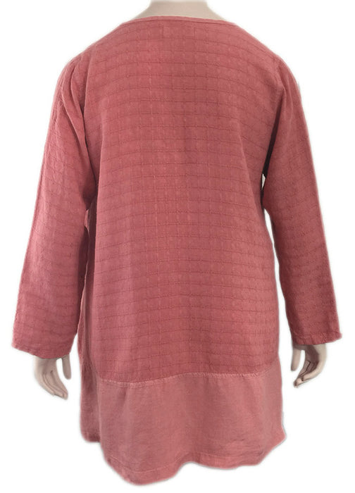 Bodil Linen Tunic - BACK VIEW