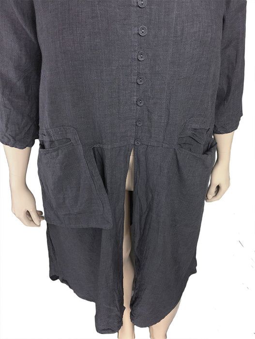 Cheyenne Long Linen Tunic