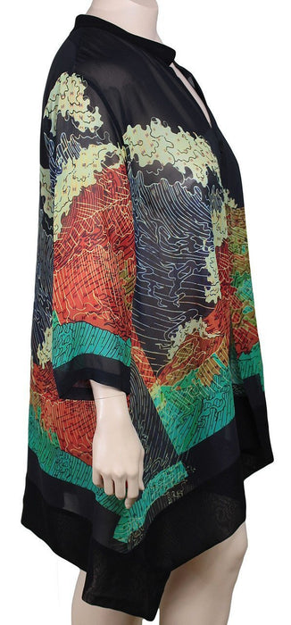Dressori Silk Georgette Duster
