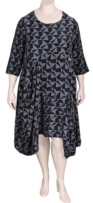 Grizas Geometric Tunic Dress