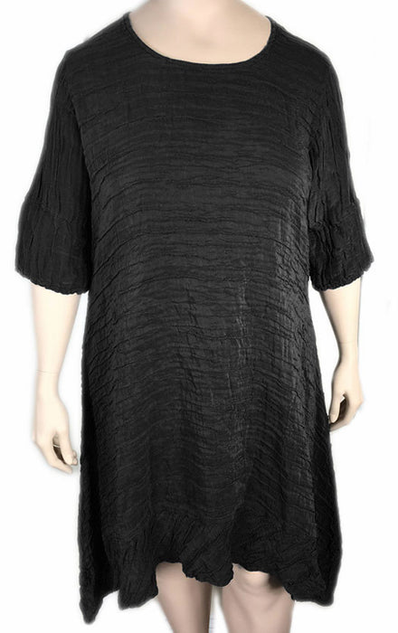 GRIZAS Silk Linen Long Tunic / Dress