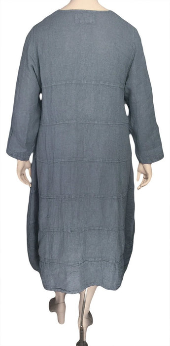 Grizas Linen Mesh Dress