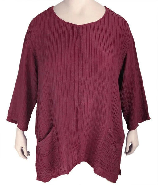 Grizas Silk Tunic Top