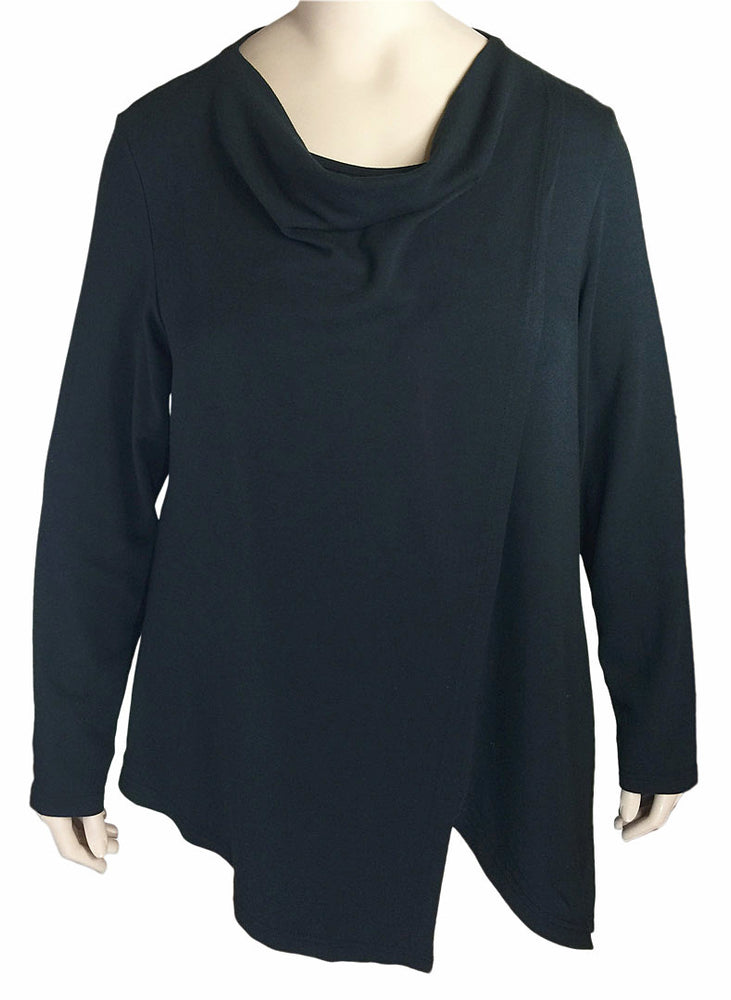 Kleen Plus Size Black Top