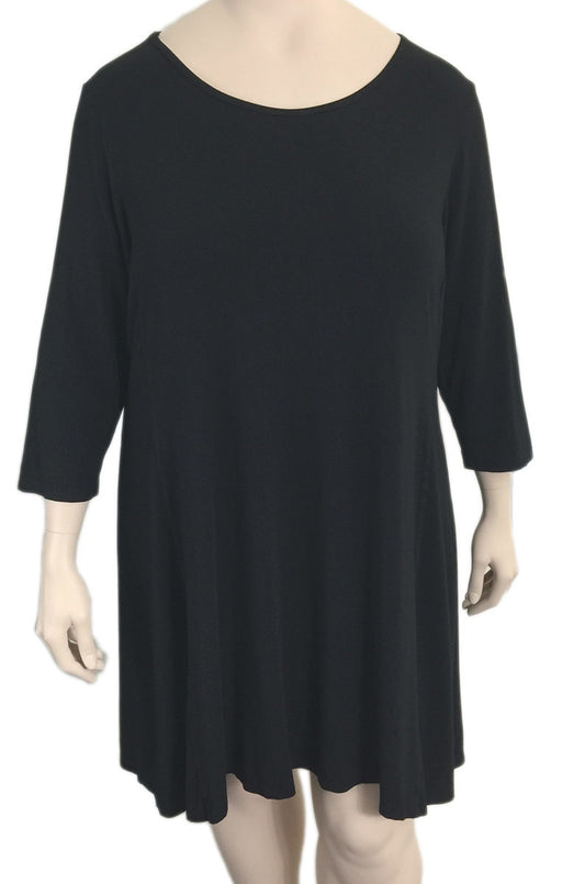Kleen Black Viscose Jersey Dress