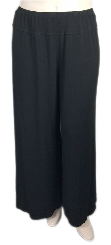 Heartstring by KLEEN Wide Leg Viscose Jersey Pants
