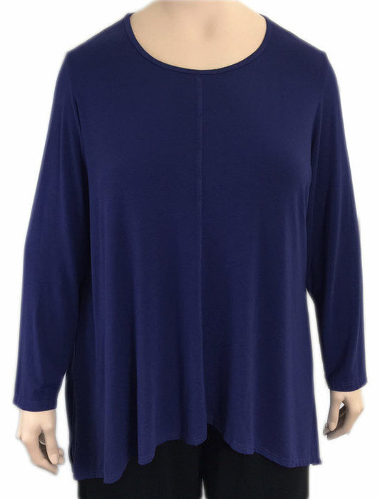 Heartstring by KLEEN Viscose Jersey Swing Top