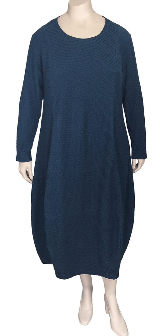 Risona Textured Cotton Dress