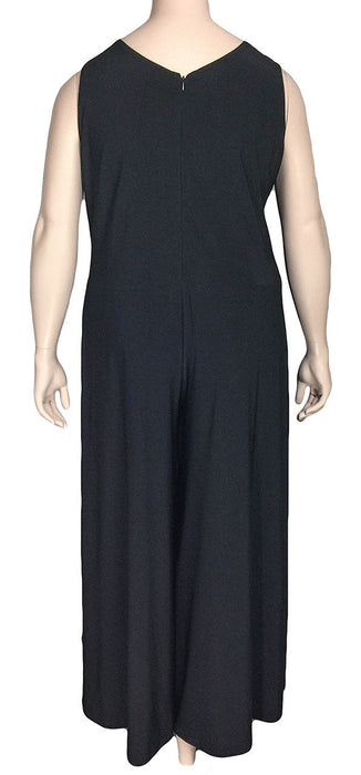 SUN KIM by Comfy USA Black Jumpsuit