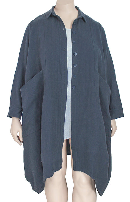 Cheyenne Linen Cotton Coat