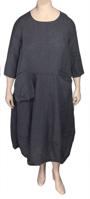 Cheyenne Plus Size Linen Dress