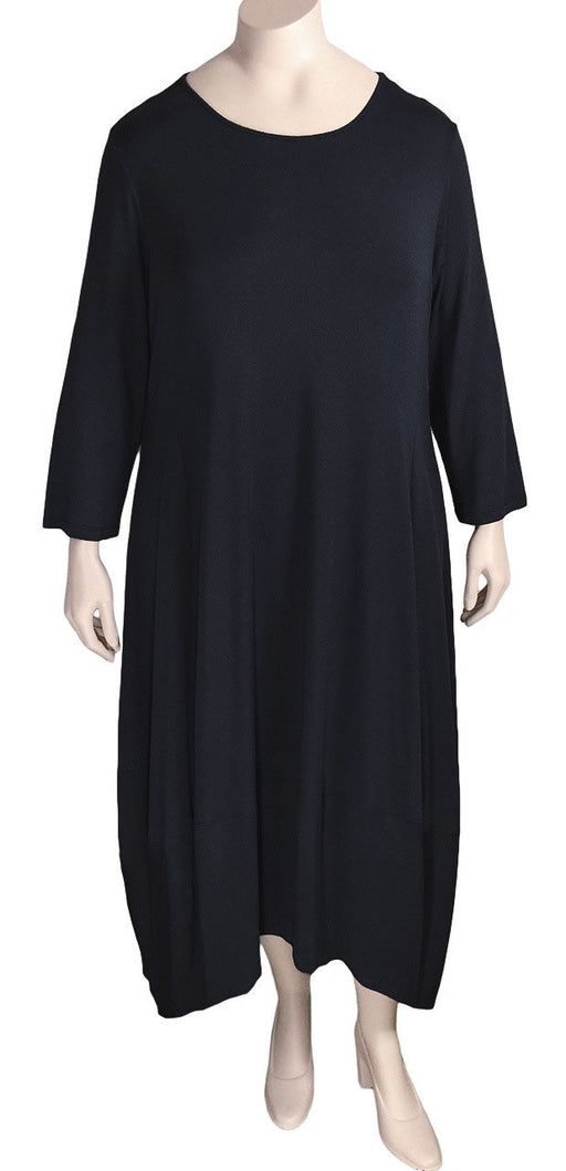 Plus Size Comfy USA Black Kati Dress