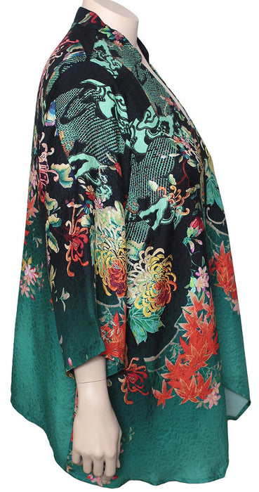Dressori Silk Imperial Cardigan / Jacket