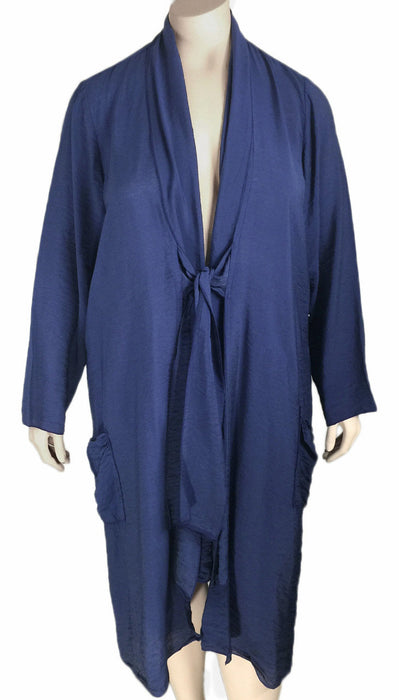 Fenini Silky Rayon Duster / Cover-Up