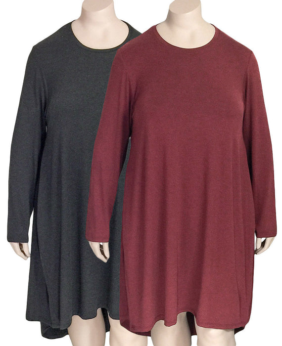 Gershon Bram Viscose Jersey Tunic Dress
