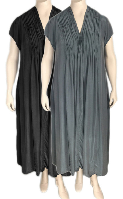 Grizas Silk Bamboo Maxi Dress