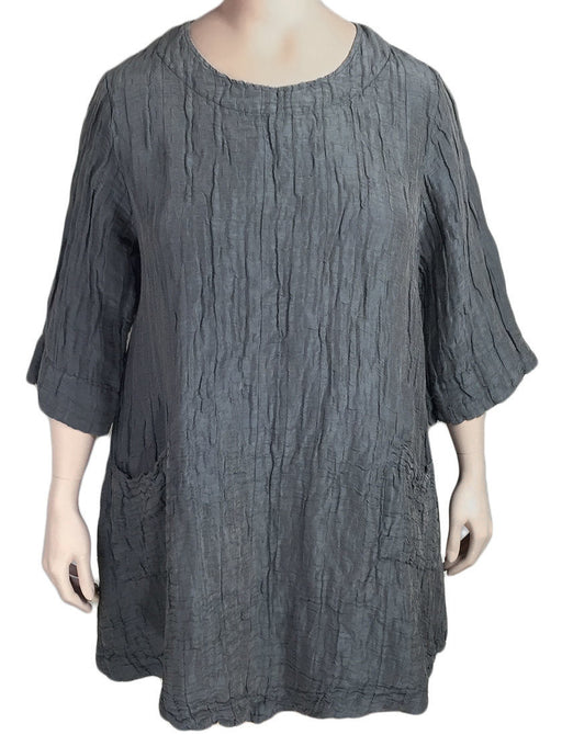 Grizas Silk Linen Tunic