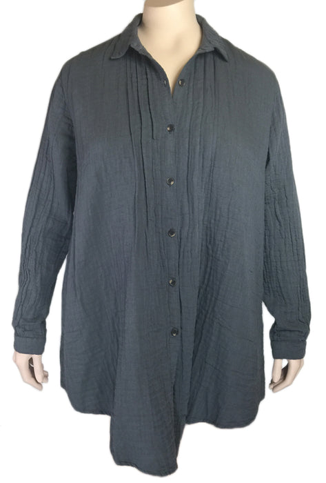 Kleen Double Layer Cotton Shirt (2 COLORS)