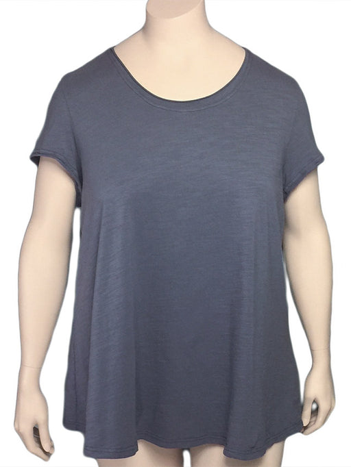 Kleen Plus Size Cotton Jersey A-Line Tee Shirt