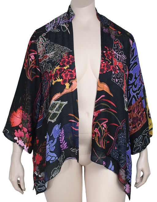 Plus Size Citron Santa Monica Silk Jacket