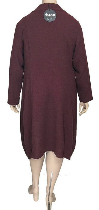 Risona Viscose Wool Tunic Dress