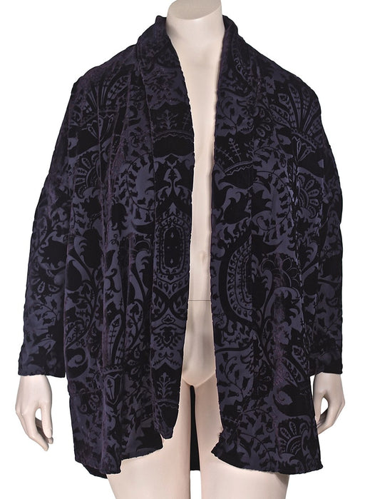 URU Plus Size Velvet Jacket