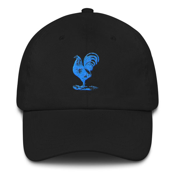 Blue Rooster Dad Hat