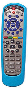 Dish Network Remote Skin Cover fits all model 20, 32, 40 BLUE