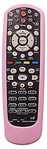 Dish Network Remote Skin Cover fits all model 20, 32, 40 PINK