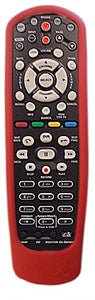 Dish Network Remote Skin Cover fits all model 20, 32, 40 RED