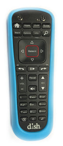 DISH Network 52.0 Remote Skin Cover BLUE