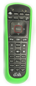 DISH Network 52.0 Remote Skin Cover GREEN