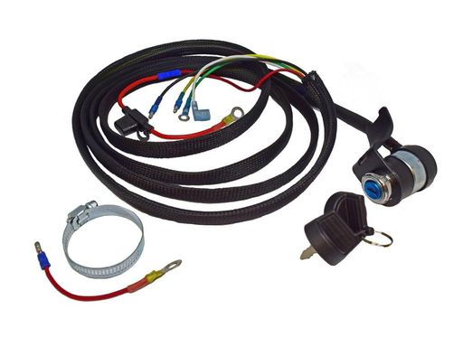 Wiring Harness w/Keyswitch & Mount for HF Predator 670cc V-Twin