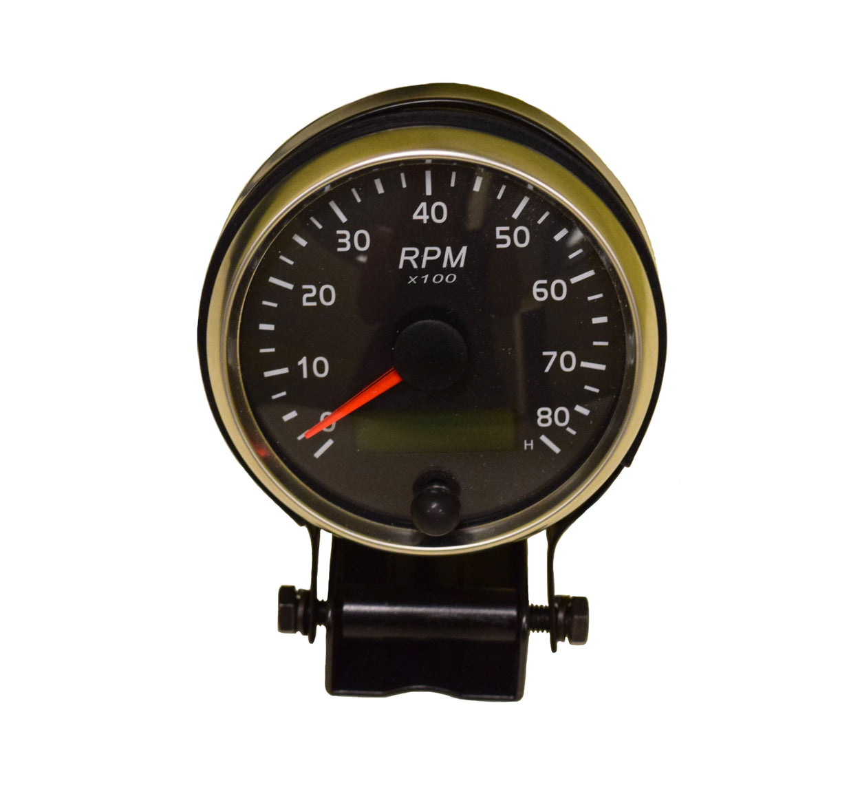 85mm Small Engine Analog Tachometer & Hour Meter 0-8000 TACH